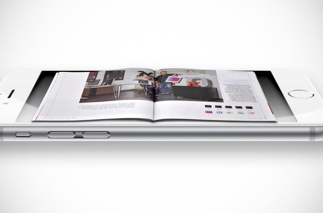 Smartphone with magazine