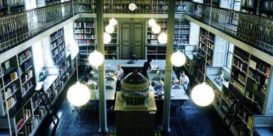 Danmarks Kunstbibliotek læsesalen